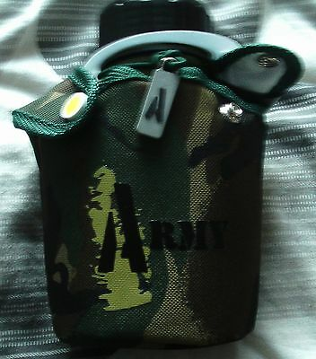 New Modern Army Camoflague Water Bottle