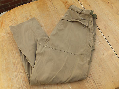 Rohan Cargo style casual walking hiking trousers. Size L W35-38 inch