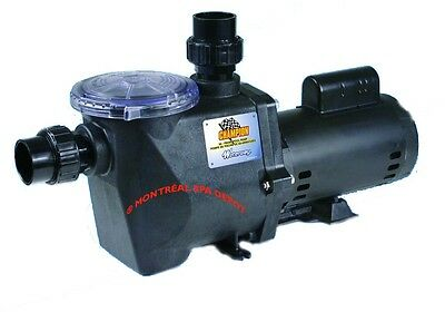 Waterway Champion 56frame in-ground POOL PUMP 3HP 230V 1-speed motor