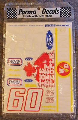 Parma #10755 Winn Dixie NASCAR #60 Mark Martin Ford T-Bird Rousch Decals NIP