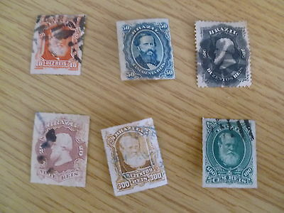 Brazil 1866-1878 used Catalogue value £35+ Ref TK2