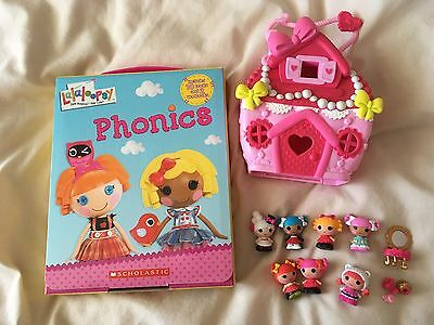 Lalaloopsy Tinies House With Tinies And Lalaloopsy Phonic Books