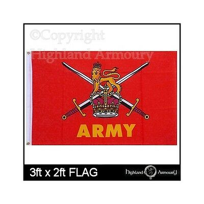 3' x 2 ft FLAG Army British Military Armed Forces New Great Britain Large Flags