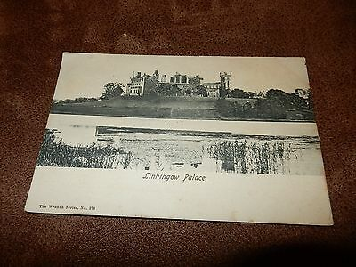 1903 fr Wrench postcard- Linlithgow Palace - West Lothian Scotland