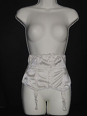 FABULOUS VINTAGE 1950s WOMANS/GIRLS LEWELLA LITTLE SLAM CORSET LINGERIE SZ 28 #1