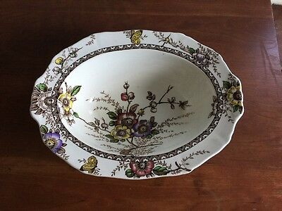 Alfred Meakin England~~Medway Decor~~Oval Vegetable Bowl~~Great Condition