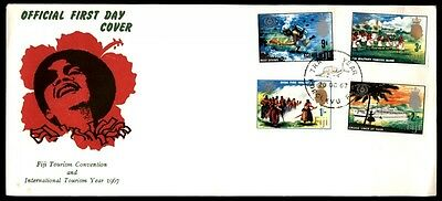 1967 tourism convention international year first-day cover Fiji