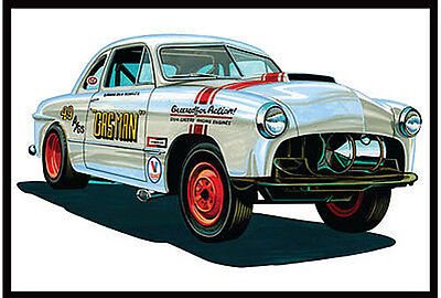 AMT Retro 1949 Ford Club Coupe Gas Man model kit 1/25