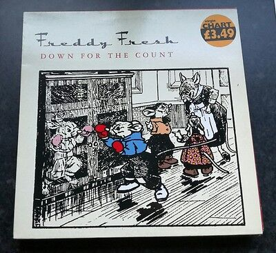 "Freddy Fresh - Down For The Count 12"" Eye Uk 30 Eye Q 1998 Vg+!"