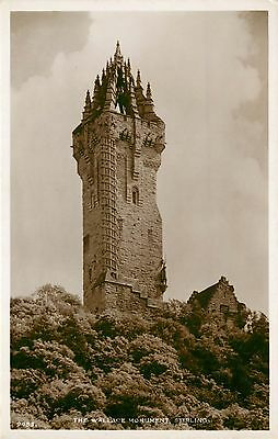 p1088 Wallace Monument, Stirling, Scotland postcard RP