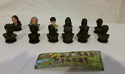 12 Lord of Rings LOTR Mini Bust Figure Collection by Tomy Yujin