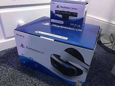 Sony PlayStation VR Headset, Camera 2.0, VR Worlds & EVE Valkyrie