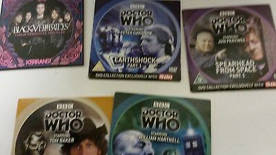 Dvd The Sun Collection Dr Who Dvds