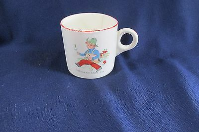"""Vintage Tom Tom The Pipers Son 1930's Child's Cup, 2 3/4"""" High"""