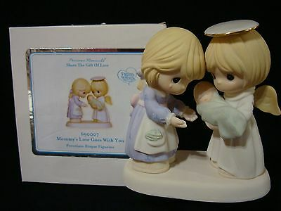 t Precious Moments-Mommy's Love Goes With You-RARE CHAPEL EXCLUSIVE-Bereavement