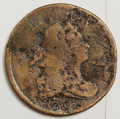1803 Half Cent.  Circulated.  103381