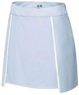 Adidas Ladies Puremotion Tour Pleat Skort  Clear Onix 12