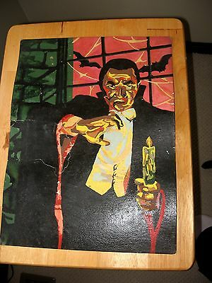 60's Hasbro Paint By Numbers Painted Dracula No Box