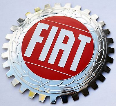 Fiat - car grille badge
