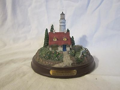 "Thomas Kinkade ""Clearing Storms"" Light Up Lighthouse"