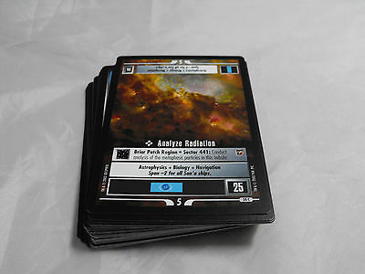 Star Trek Ccg The Motion Pictures Complete Common Set