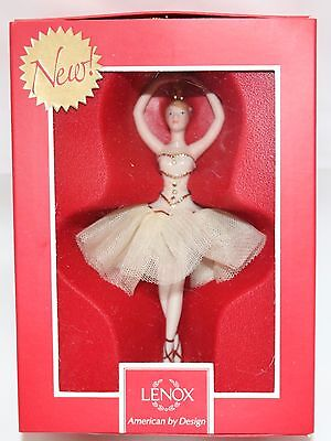 Lenox CLASSIC BALLERINA Ornament Christmas Tree NEW IN BOX Gift Holiday