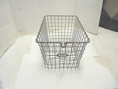 small tapered metal wire gym pool basket kasper wire works #176 loose wires