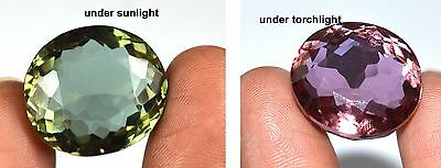 49.15 Ct IGL Certified Natural Oval Color Changing Alexandrite Gemstone-GIFTS
