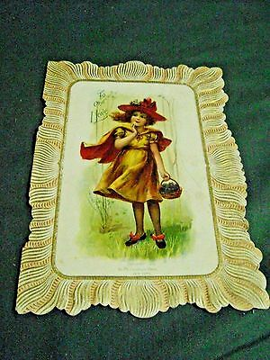 Vintage 1902 Mcloughlin Brothers Greeting Card