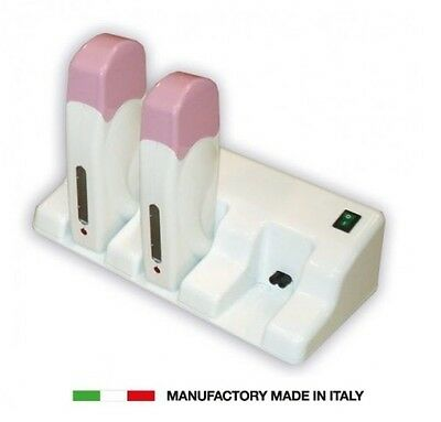 Kit Trio Con 3 Manipoli Scaldacera In Plastica Rullo Da 100 Ml Made In Italy