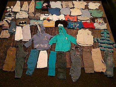 Baby Boys 9-12 months clothes bundle 57 items