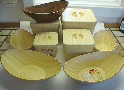 1970s caleppio ware food storage containers plus bowls