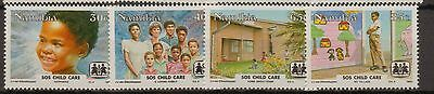 Namibia:1993:S.O.S. Child Care in Namibia,Set.MNH.