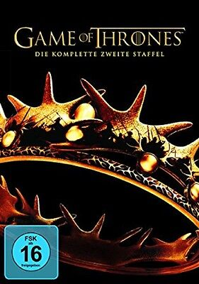 Game of Thrones Staffel 2 NEU OVP 5 DVDs