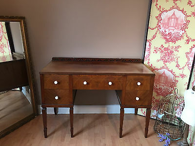 Vintage Antique Dressing Table with drawers Shabby Chic Project to REFURBISH