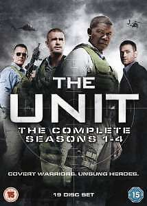 The Unit Season 1-4 Box Set - Dvd - Drama - New