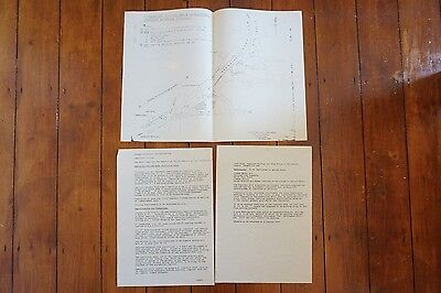 1971 Ambergate Railway Station Tender for Demolition with Plan