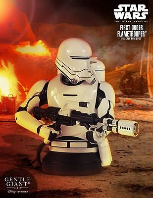 IN STOCK First Order Flametrooper Mini Bust from Gentle Giant