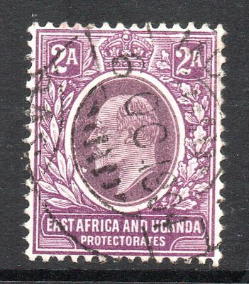K.U.T.: 1904 KEVII 2a. with unlisted wmk. variety 'no A in CA' SG 19 var used