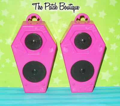 Monster High 13 Wishes Party Lounge Playset Replacement Pink Pretend Speaker