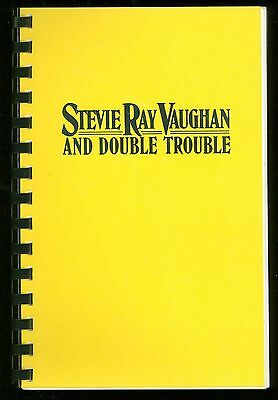 STEVIE RAY VAUGHAN 1988 LIVE ALIVE Concert Tour Itinerary