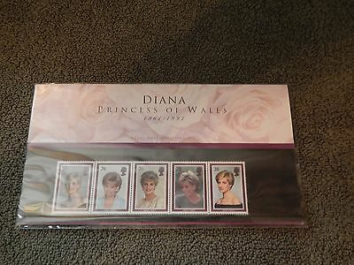 1997 Princess Of Wales Diana Royal Mail Stamps Complete Presentation Pack  AV
