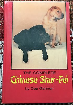 The Complete Chinese Shar-Pei dog book Dee Gannon ~ first edition 1988