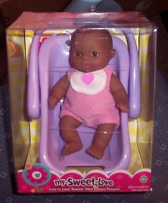 "NEW Berenguer Doll AA Lots To Love Babies 5"" Mini Nursery PlaySet Carrier SALE"
