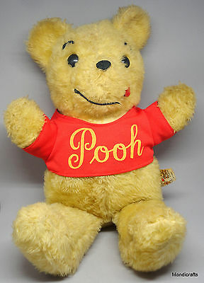 Sears Canada Winnie the Pooh 16in Teddy Bear Plush Walt Disney Productions 1970s