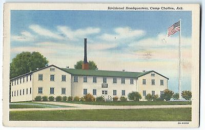 Camp Chaffee, AR, Divisional Headquarters, cpy 1942
