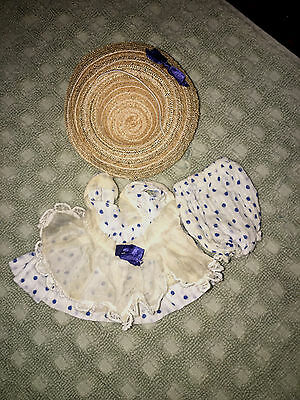 Vogue Strung Ginny Doll Tagged Outfit with hat 1950's