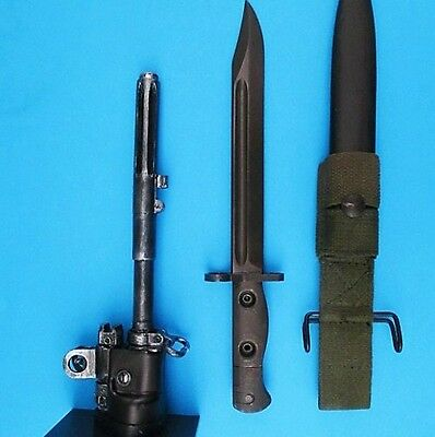 Rare Australian Vietnam Slr Bayonet Knife Un-Issued Surplus With L1A1 Stand