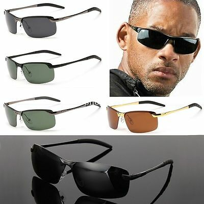 COOL Mens Polarized Lens Driving Outdoor Sports Sunglasses Eyewear Glasses