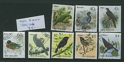 New Zealand 1982 Birds Complete  set - Fine Used